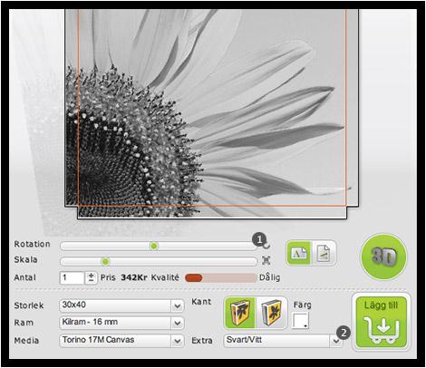 Guide Canvas - Inställningar & Filter