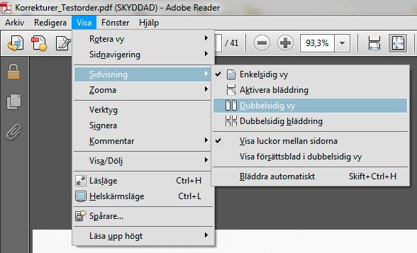frontBook - Korrektur