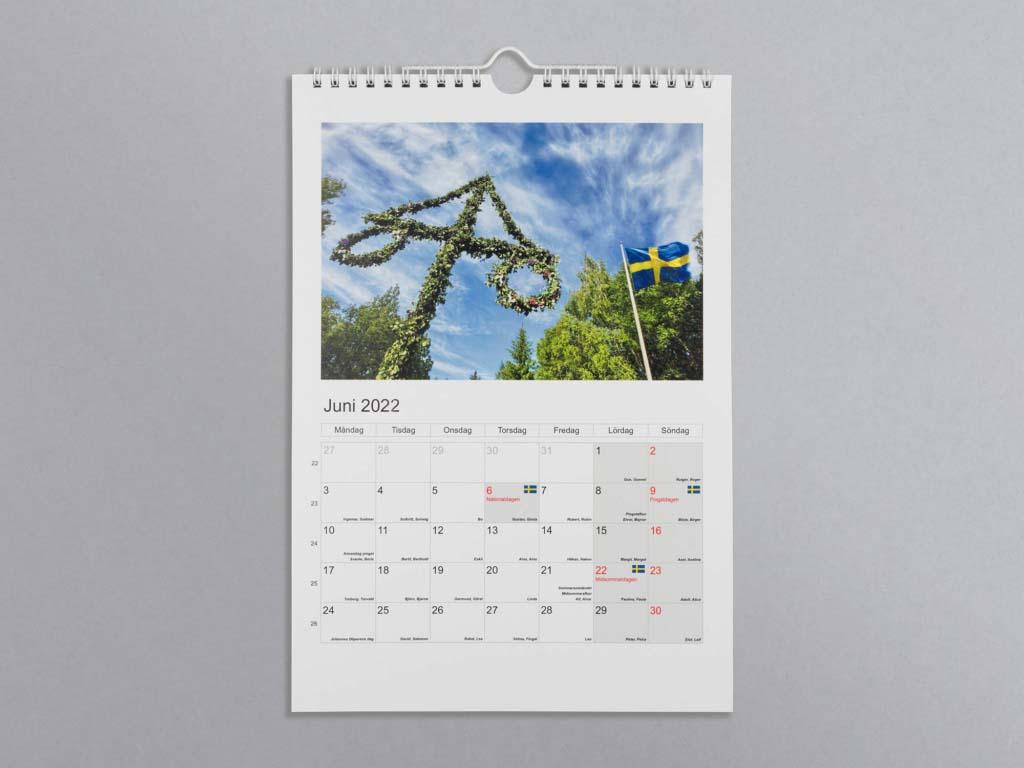 Klassisk kalender 2022