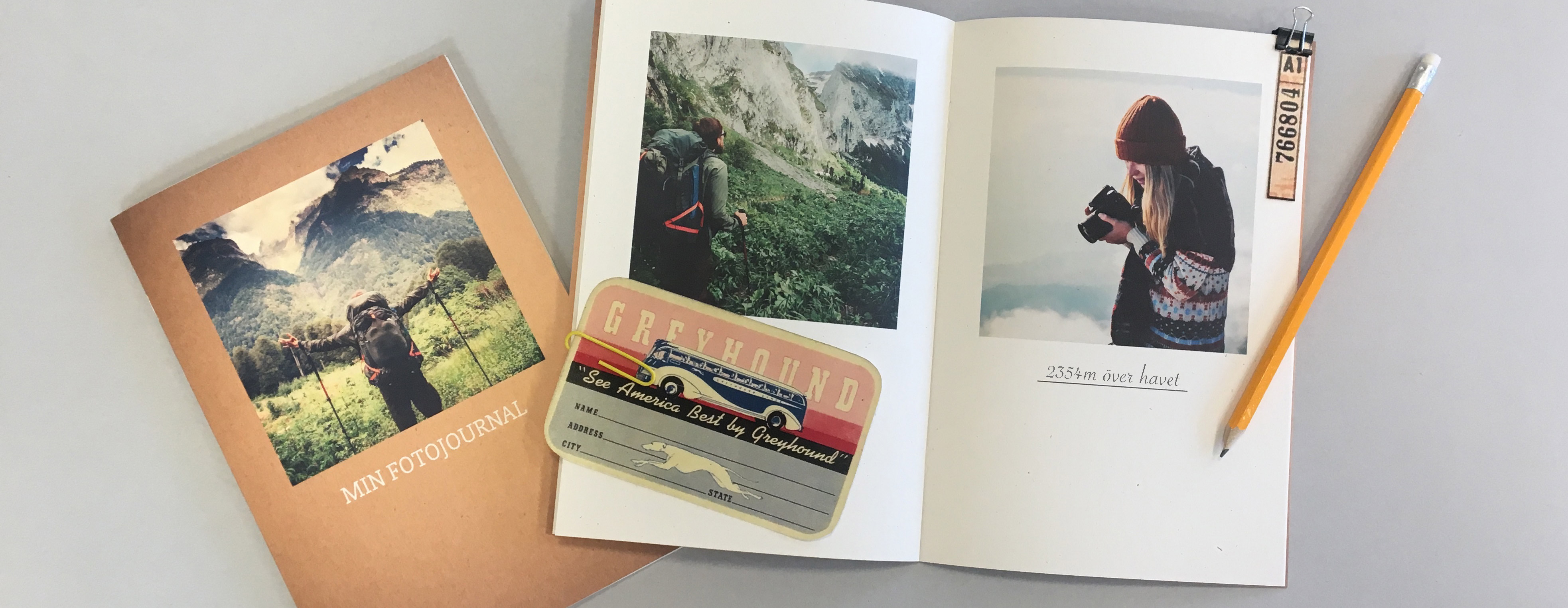 Skapa en scrapbook med egna foton