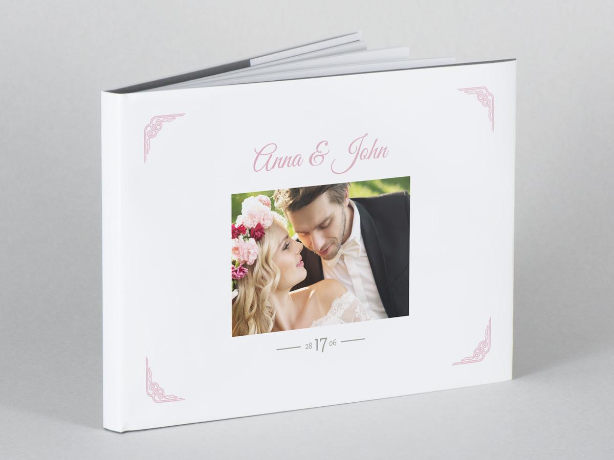 Skapa fotobok med bröllopsbilder