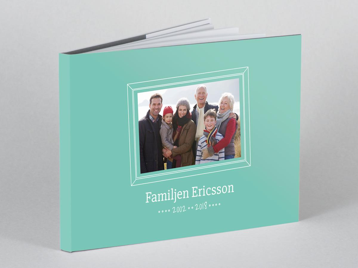 Fotobok för familjebilder