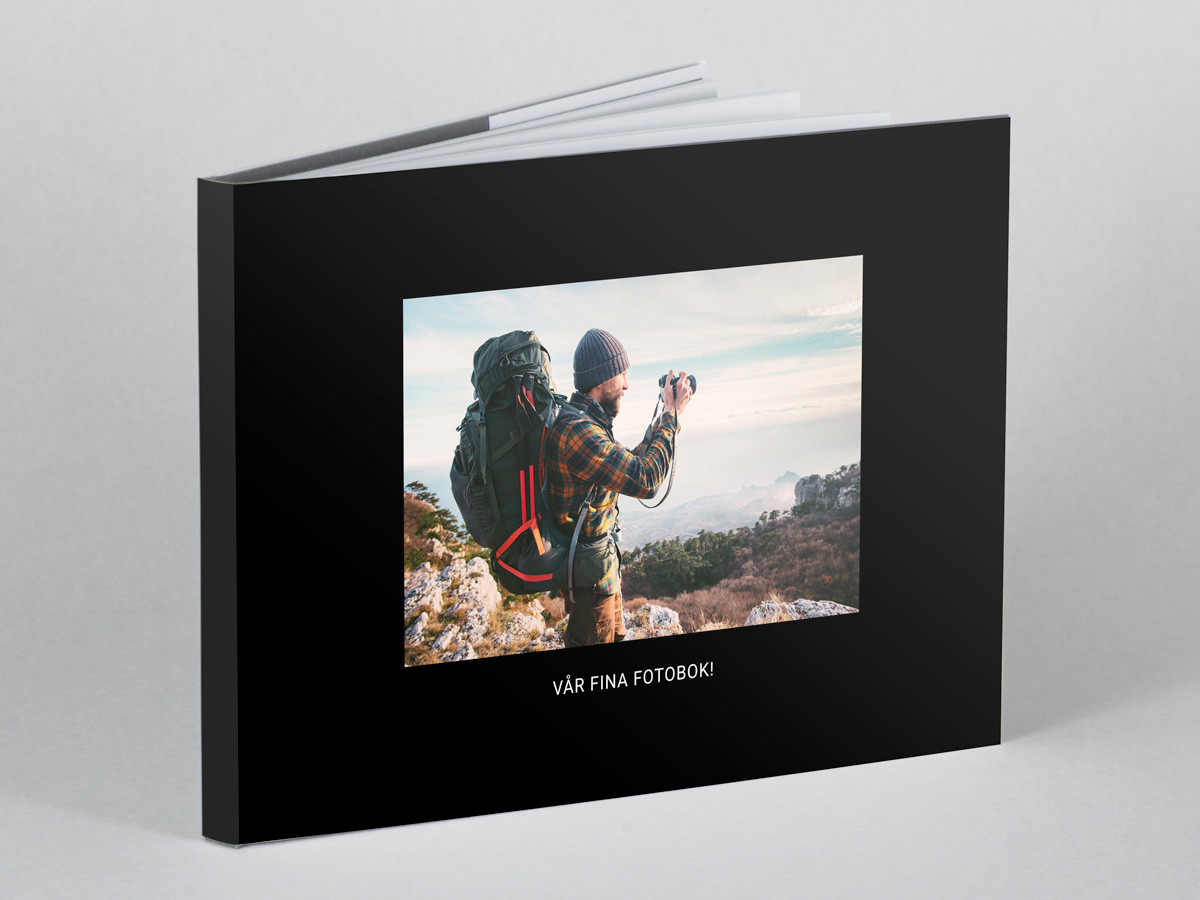 Skapa en enkel och snabb fotobok
