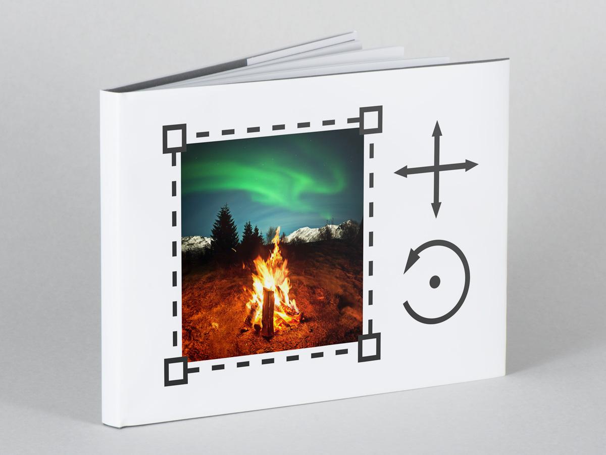 Fotobok med helt egen design