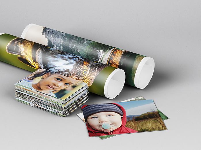 Framkallning av stora och små fotokopior