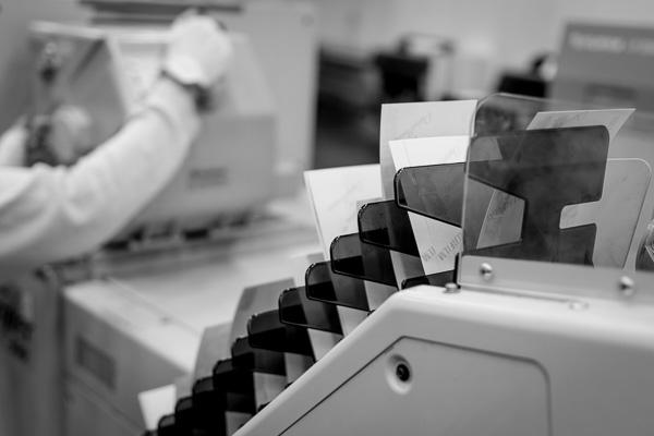 Produktion av fotokopior