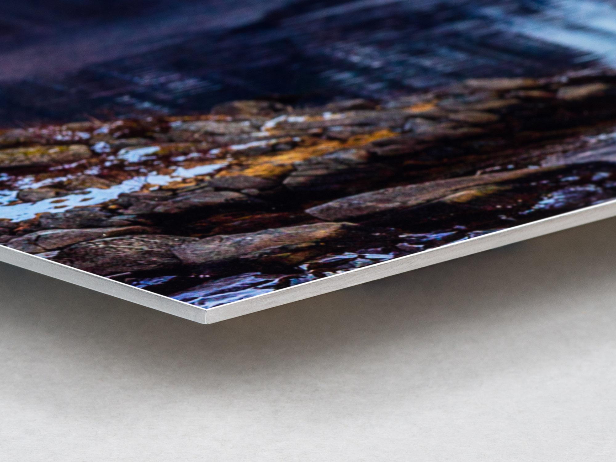 Bildmontering med fotokopia på Aluminium 2mm