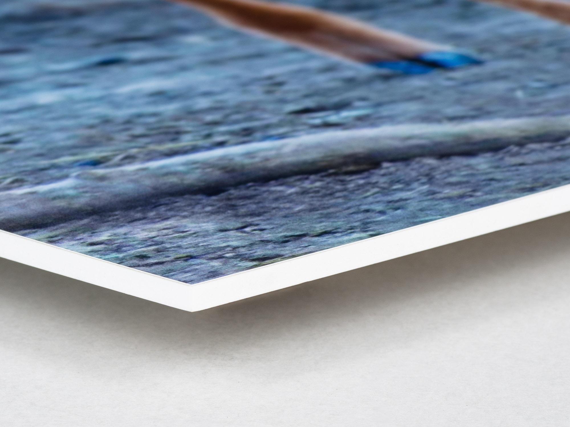 Bildmontering med fotokopia på Forex 5mm