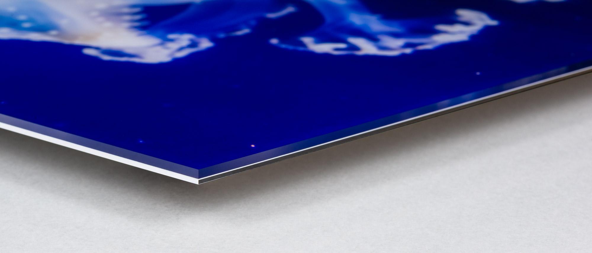 Fotomontering på plexiglas