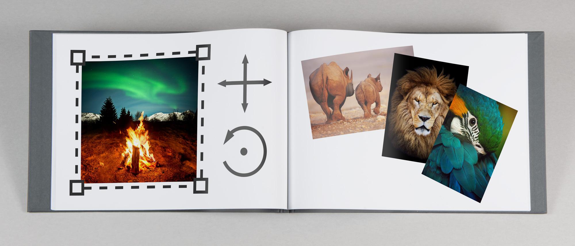 Fotobok med din helt egna design  f3ed058743646