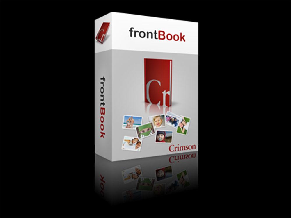 Skapa fotoböcker med Frontbook