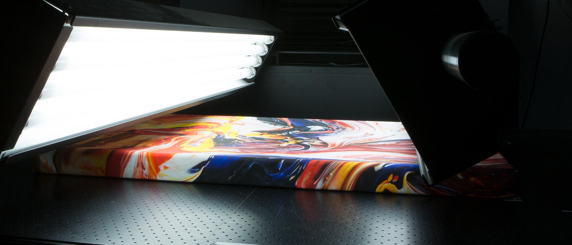 Digitalisera stora bilder och konstverk