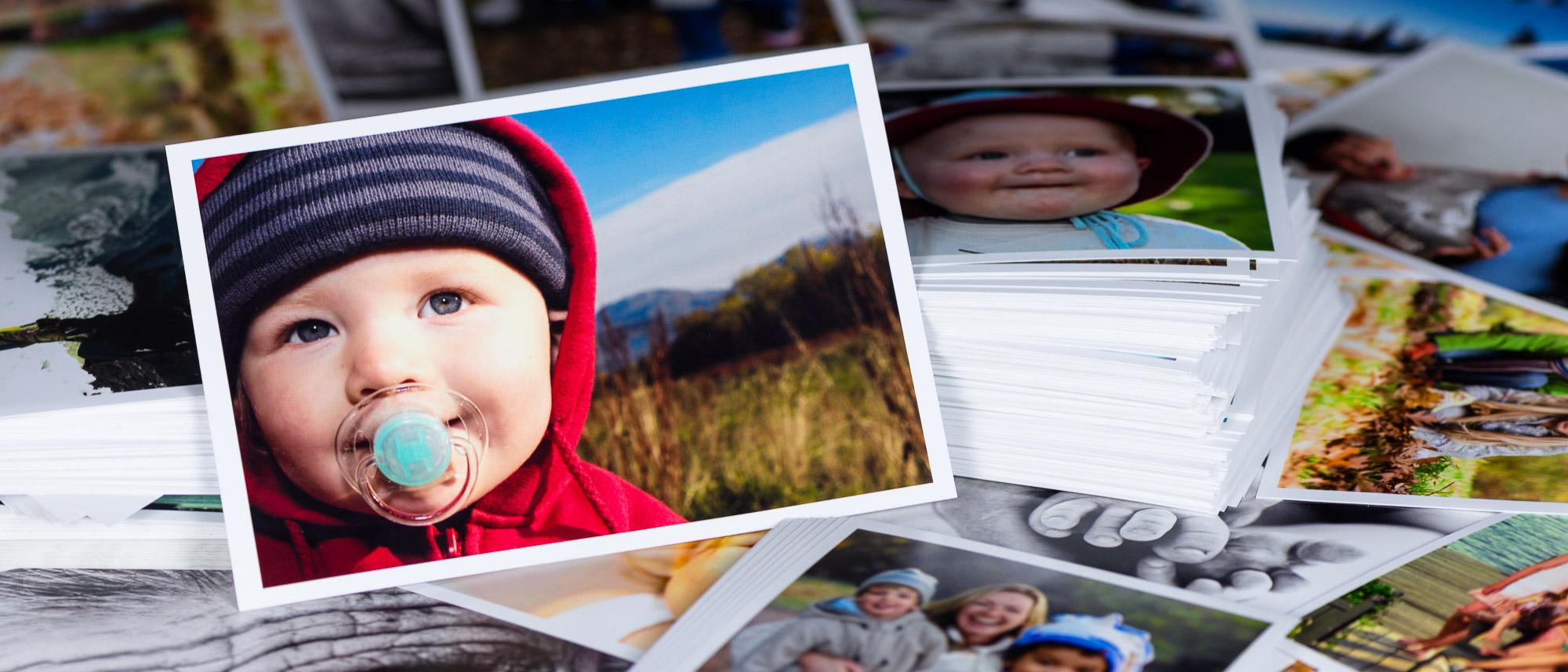 Framkalla bilder i små format